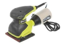 Ryobi Sheet Sander 2 Amp 1/4 Finishing Palm Corded Power Tool Square Pad New