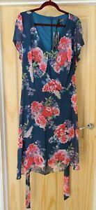 PRINT DRESS BNWT SIZE 24