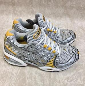 Women's Asics Gel Nimbus VIII Trainers Size 4 UK Running Shoes Gym Exercise Jog