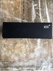Mont Blanc Glasses Sunglasses Black Magnetic Fasten Case Inside Cardboard Box