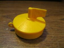 Vintage Fisher Price Adventure People 1975 Rescue Raft Boat Kayak Marine Buoy
