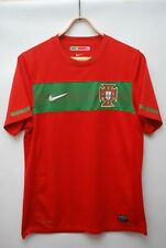 PORTUGAL NATIONAL TEAM 2010 2012 HOME FOOTBALL SHIRT JERSEY SOCCER SIZE S