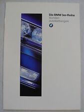 Prospekt BMW 3er Reihe E 36 Sonderausstattungen, 1.1995, 18 Seiten