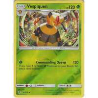 Pokemon TCG: Vespiquen - 32/214 - Uncommon Reverse Holo Card - SM8 Lost Thunder