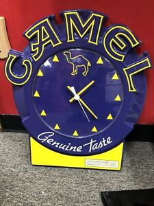 Vintage unique collectible Camel cigarette 1994 Wall Clock