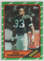 1986 Topps Football Los Angeles Raiders Complete Team Set