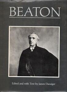 'BEATON' by James Danziger  - Biography and Portfolio   publ. Secker & Warburg