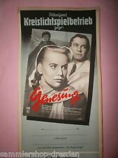 Genesung DDR Filmplakat 1956 60x28 cm gerollt East german movie poster DEFA