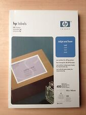 10x HP Q6552A (4000x Large Address Label) Paper 105x148 A4 Quick Dry Smudge Free
