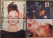 Ancien poster Sade,Vanessa Paradis , 30 x 44  cm