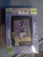 MUHAMMAD ALI  METAL TRADING CARDS - CIRCA  1995-ONLY $99.99 AND ALWAYS FREE SHIP