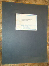 1934 CHEVEROLET DELUXE STANDARD MODELS SERIES DA DB DC O FACTORY SERVICE MANUAL