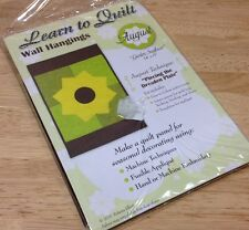 NEW Learn to Quilt August Garden Sunflower Wall Hangings Kit Crafts Quilt Panel