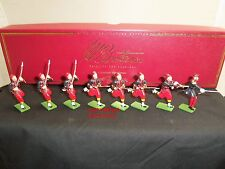 BRITAINS 00167 CRIMEAN WAR FRENCH ARMY 3RD ZOUAVES METAL TOY SOLDIER FIGURE SET