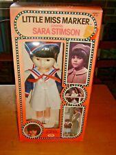 Vintage IDEAL 1980 LITTLE MISS MARKER Starring SARA STIMSON Doll in ORIGINAL BOX