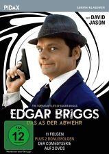Edgar Briggs - Das As der Abwehr * DVD Serie 11 Folgen mit David Jason Pidax Neu
