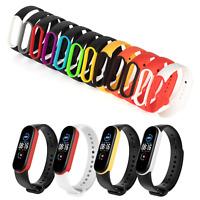 Ersatz Armband für Xiaomi Mi Band 5 Fitness Sport Tracker Smartwatch Silikon