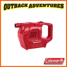 Coleman Quickpump Rechargeable 12v and 240v Air Pump