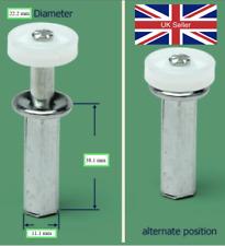 Replacement Bi Fold Door Top Guide Wheel, Spring Loaded - For European export