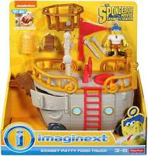 Fisher-Price The Spongebob Movie Sponge Out Of Water Imaginext Food Truck Toy