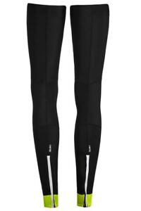 Cycling Leg Warmers Funkier Repel Thermal Protection Black LW-658 Large