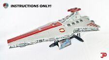 LEGO Star Wars UCS Venator Star Destroyer MOC, 75252-scale INSTRUCTIONS ONLY