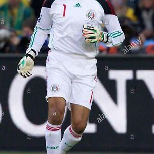 adidas Mexico Home Long Sleeve goalkeeper Jersey - Black/White, 3XL