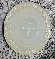 Beautiful Belleek China Celtic Cross Christmas 1975 Plate