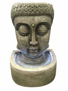 Classic Buddha Head Water Feature by Aqua Creations