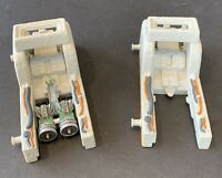 """Star Wars Micro Machines with 2 Launchers Galoob 1998 Includes 2"""" Pod Racer"""