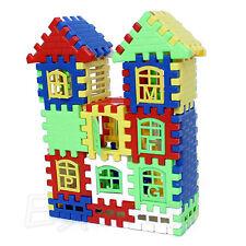 Children Bricks House Kids Building Blocks Learning Toy Construction Set Funny