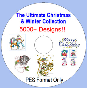 Ultimate Christmas & Winter Machine Embroidery Pattern Collection 5000+ patterns