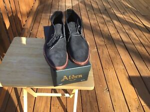 Alden Suede Chukka Boots, Size 11D, New In Box, $ 571 Retail