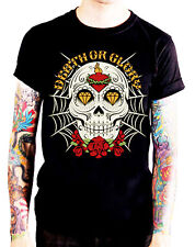 Herren T-Shirt Sugar Skull ssk27 Dia de los muertos Totenkopf calavera