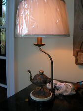 Maitland Smith Antique Brass Petite Ostrich Table Lamp