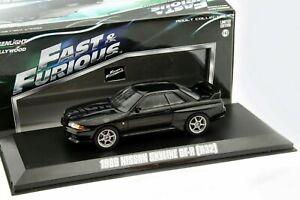 1989 NISSAN SKYLINE GT-R (R32) RHD DIECAST SCALE 1/43 FAST & FURIOUS #86229 NEW