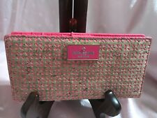Kate Spade Wallet Pink and Tan