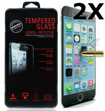 2 X New Premium Real Tempered Glass Film Screen Protector For Apple iphone 6S