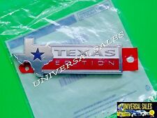 TEXAS EDITION FORD F-250 EMBLEM BADGE 2015 2016 2017 TAILGATE GENUINE NEW IN BAG