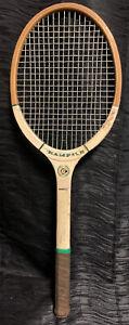 Vtg Antique Dunlop Champion Wood Tennis Racquet Racket South Africa Rare