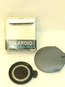 Polaroid 4-Stop Lens Filter #451 Light Reducer for 3000 Film Outdoor Box case