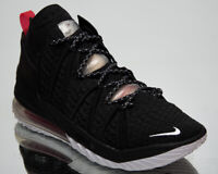 Nike LeBron XVIII Bred Men's Black White Red Athletic Basketball Sneakers Shoes