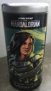 "Star Wars The Mandalorian ""Warrior Herb Tea "" The Republic Of Tea 36 Tea Bags"