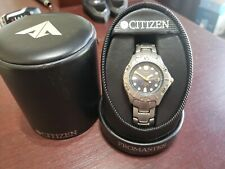 Citizen Promaster Solartech 180 Titanium Dive Watch