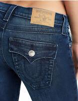 True Religion Women's Stella Super Skinny Stretch Jeans in Midnight Bloom