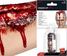 Costume professionale gel sangue in bottiglia da Smiffys