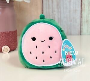 "*SALE* KellyToy Squishmallow 5"" Wanda Watermelon NEW Fruit Squad Plush Toy HTF"