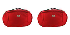 Victorinox Swiss Army Red Hanging Travel Toiletry Bag New, 2 Packs