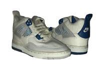 Sky Jordan 4 OG Military Blue 1989 Toddler size 13.5c nike kids