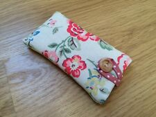 iPhone 5 / 5S / 5C / SE Padded Case Cover - Cath Kidston Rainbow Rose Fabric